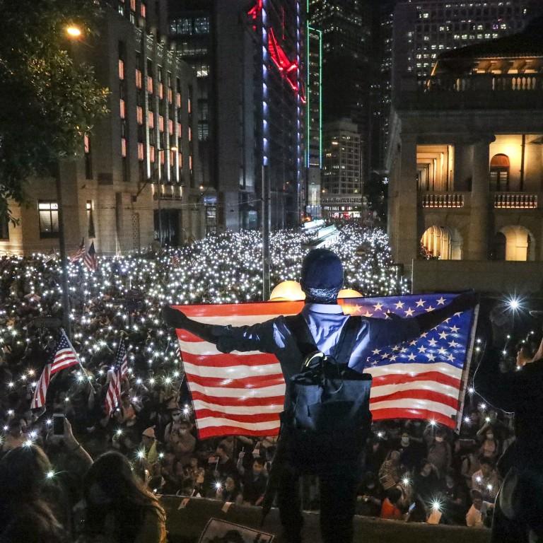 HongKongWay_AmericanFlag_SouthChinaMorningPost
